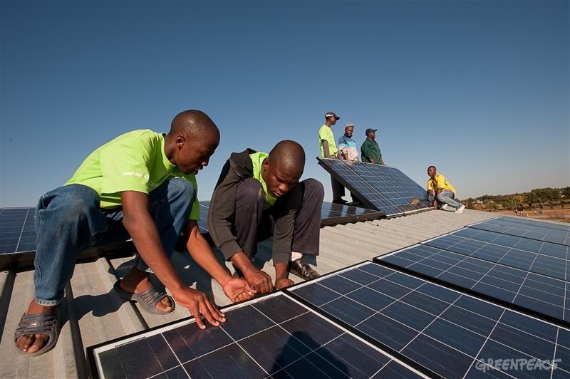 installation de panneau solaire en afrique