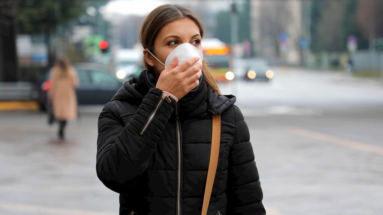 pollution corona virus